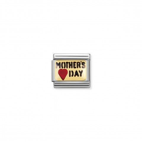 Composable_Classic_Link_MOTHER'S_DAY_writing_18K_gold_and_coloured_enamel_Link_Love_Messages