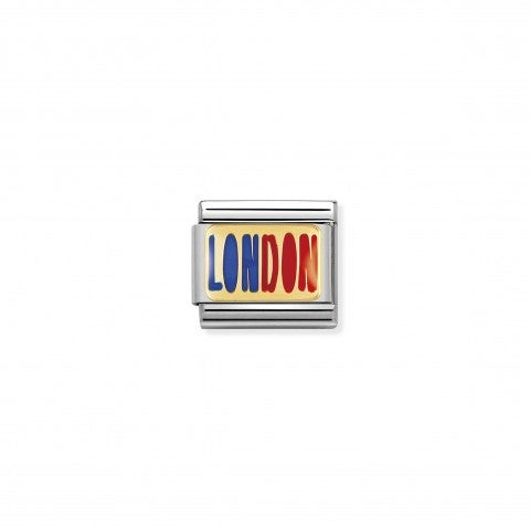 Composable_Classic_Link_LONDON_writing_Link_with_red_and_blue_enamel_Cities_to_Love