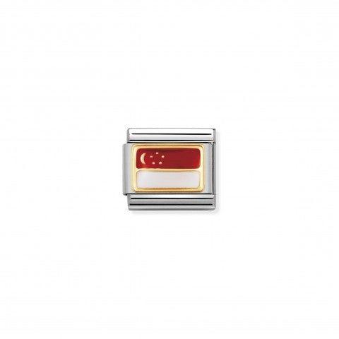 Link_Composable_Classic_Bandiera_Singapore_Link_con_bandiera_asiatica_con_dettagli_in_Smalto