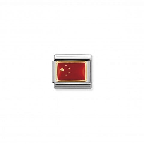 Composable_Classic_Link_China_Flag_Asian_Flag_Link_with_stainless_steel_and_18K_gold