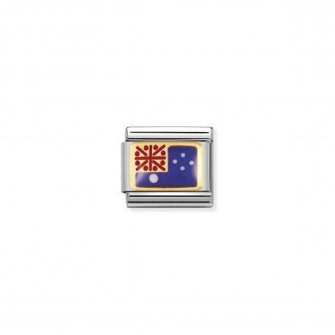 Composable_Classic_Link_Australia_Flag_Oceania_Flag_Link_with_coloured_enamel_details
