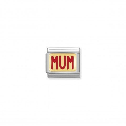 Composable_Classic_Link_MUM_writing_in_Enamel_Gold_and_enamel_Link_with_Family_messages