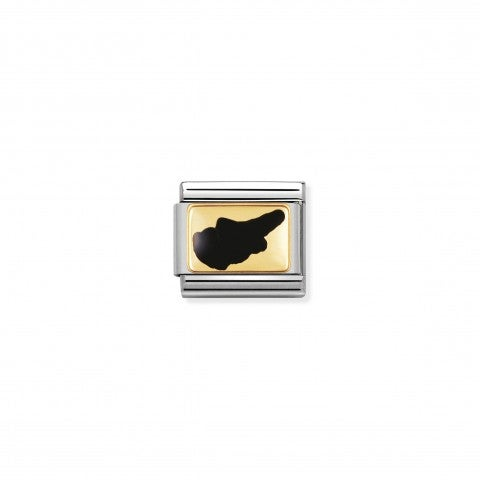 Composable_Classic_Cyprus_Island_Stainless_steel_Link_with_Geographical_symbols
