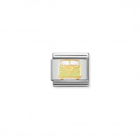 Composable_Classic_Link_Van_Link_with_18K_gold_and_enamel_Peace_and_Love