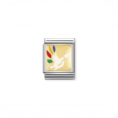 Composable_Big_Link_Friedenstaube_Link_mit_Friedens-Symbol_in_Gold