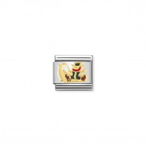 Link_Composable_Classic_Gnomo_con_tesoro_Link_con_Gnomo_irlandese_in_Oro_giallo