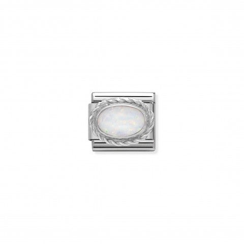 Composable_Classic_Link_October_Birthday_gift_Link_in_sterling_silver_with_oval_stone