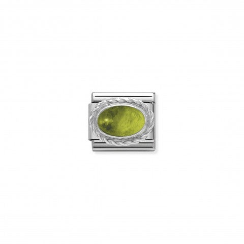 Composable_Classic_Link_August_Birthday_gift_Link_in_sterling_silver_with_coloured_stone