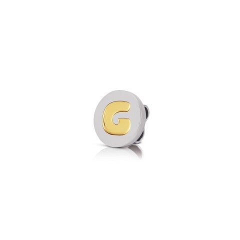 Charm_MyBonBons_with_Letter_G_in_Gold_Charm_MyBonBons_in_stainless_steel_with_Initial