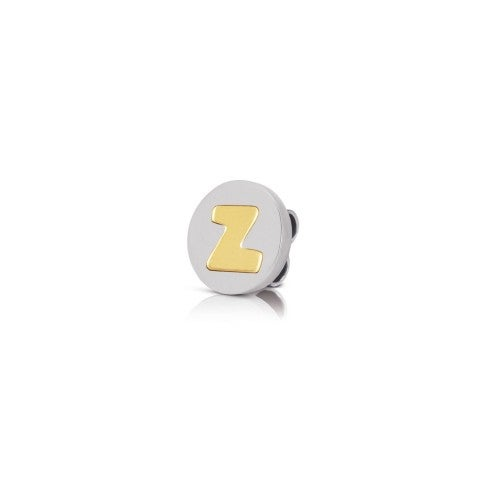 Charm_MyBonBons_with_Letter_Z_in_Gold_Charm_MyBonBons_in_stainless_steel_with_Alphabet