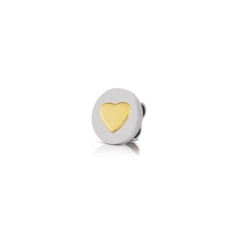 Charm_MyBonBons_con_simbolo_Cuore_in_Oro_Charm_MyBonBons_in_Acciaio_con_cuore_in_Oro_750