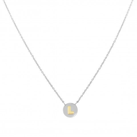 Necklace_with_Letter_L_in_Gold_Necklace_in_stainless_steel_with_pendant_in_18K_gold
