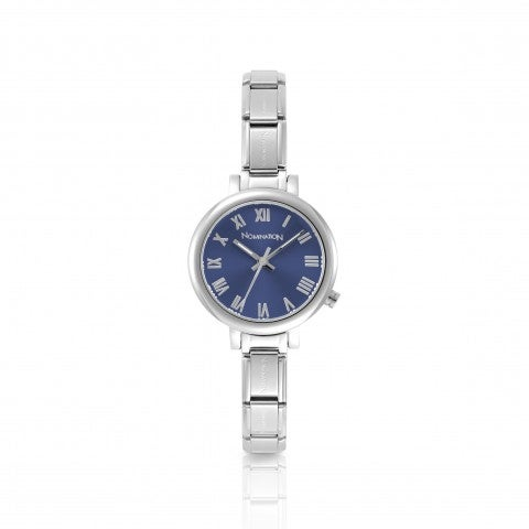 Bracelet_Watch_Composable_Collection__Watch_with_dial_in_Sunray_stainless_steel