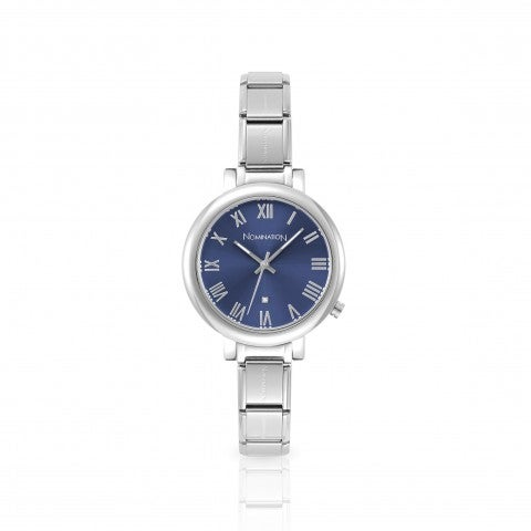 Watch_with_Composable_Big_Bracelet_Watch_dial_in_Sunray_stainless_steel_and_Cubic_Zirconia