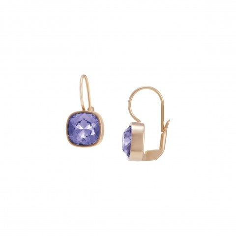 Chic_Earrings_with_Leverback_Closure_and_Zirconia_Earrings_with_Swarovski_Zirconia,_in_stainless_steel