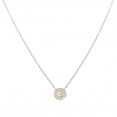 MyBonBons_Necklace_with_Moon_in_Gold_Necklace_in_stainless_steel_and_symbol_in_18K_gold