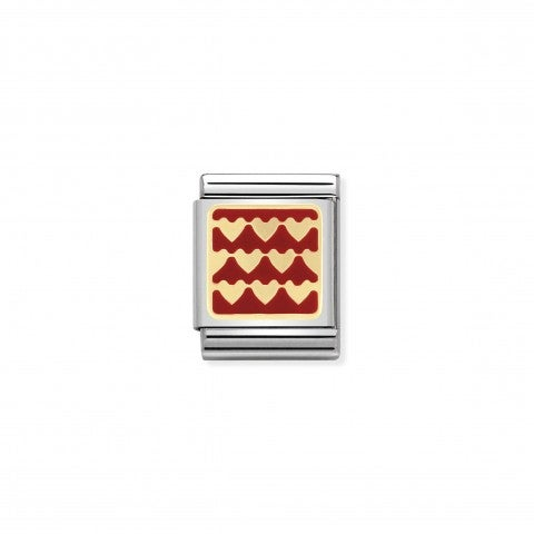 Composable_Big_Link_red_Plated_with_hearts_Textured_hearts_in_Gold_and_Enamel