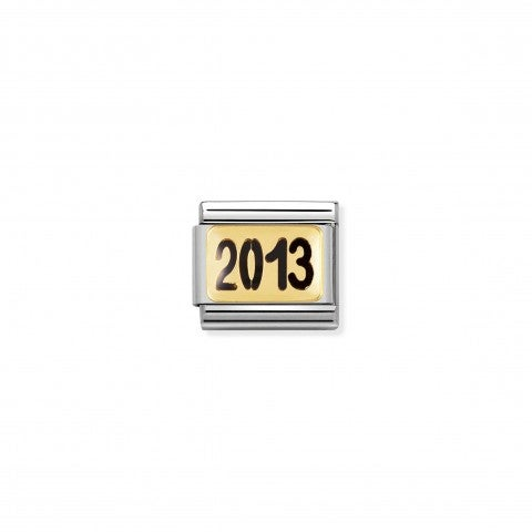 Composable_Classic_Link_2013_Link_in_stainless_steel_and_18K_gold_Years_to_Remember