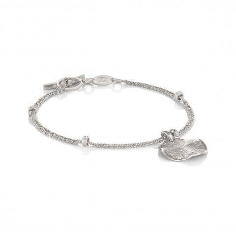 Ninfea_Bracelet_with_pendant_Bracelet_in_silver_with_pendant