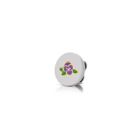 Disquette_MyBonBons_avec_violette_Disquette_MyBonBons_avec_symbole_Fleur_simplicité_en_émail
