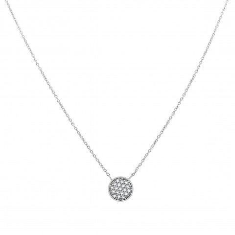 Necklace_with_round_Pendant_and_Cubic_Zirconia_Necklace_in_stainless_steel_and_Cubic_Zirconia
