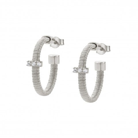 Flair_Earrings_with_Silver_Core_Earrings_in_silver_and_Cubic_Zirconia