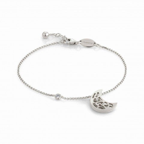 Romantica_Bracelet_with_Moon_in_Sterling_Silver_Bracelet_with_Moon-shaped_pendant