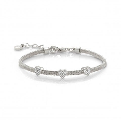 Sterling_Silver_Bracelet_with_3_Hearts_Bracelet_in_silver_with_Cubic_Zirconia