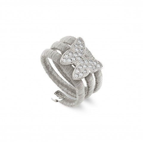 Flair_Triple_Twist_Ring_with_Butterfly_Ring_with_pendant_in_Cubic_Zirconia