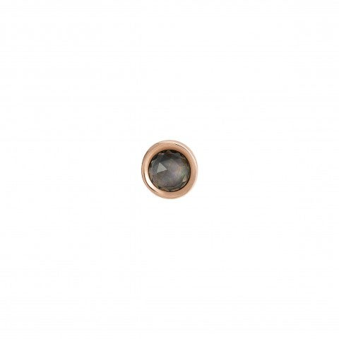 Diana_Single_Earring_with_Natural_Stone_Earring_in_silver_and_rose_gold_with_gemstone