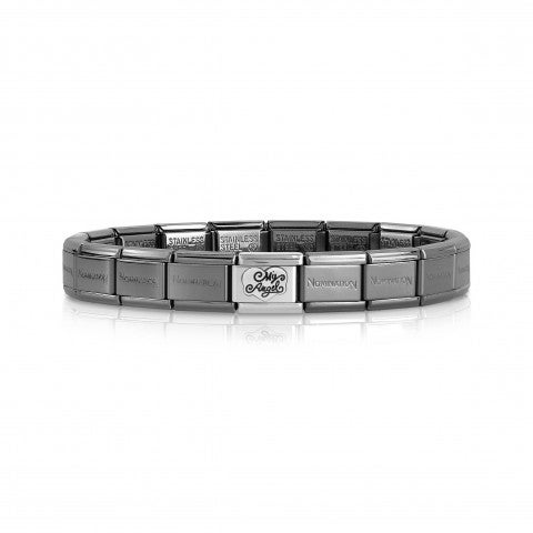 Bracciale_Composable_Classic_My_Angel_in_Nero_Bracciale_My_Angel_già_composto_con_Base_nera