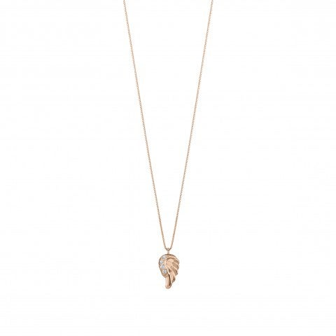 Necklace_with_Angel's_Wing_Pendant_and_Zirconia_9K_rose_gold_and_Cubic_Zirconia_necklace_with_pendant