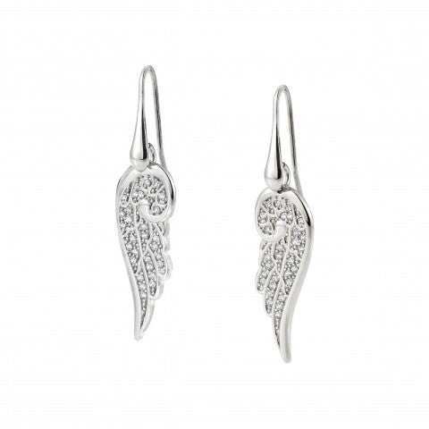 Wing_pendant_Earrings_in_Silver_and_Stones_Earrings_with_Wing_symbol_in_sterling_silver_and_Zirconia
