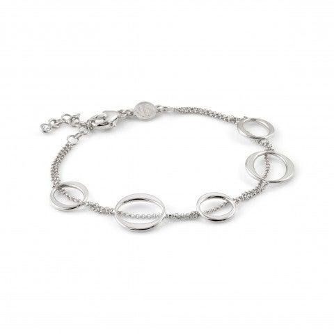 Bracelet_Unica_avec_ovale_Bracelet_en_argent_massif_avec_forme_élégante