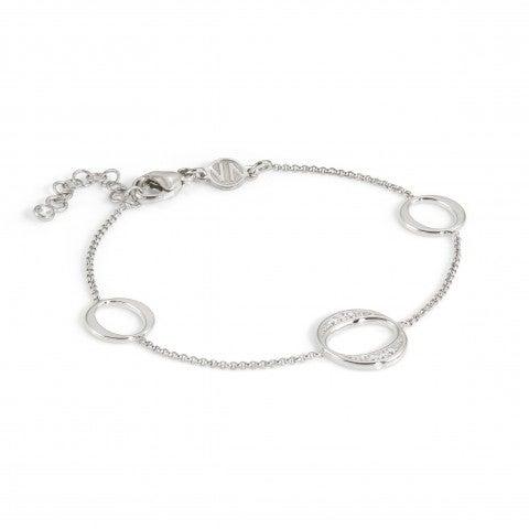 Bracelet_Unica_avec_3_Ovales_Bracelet_en_argent_massif_avec_pierres_blanches
