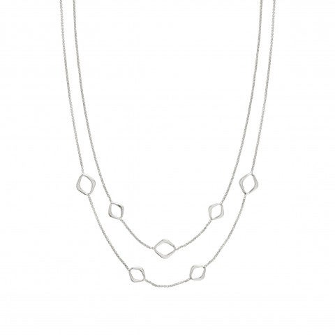 Double-Chain_Unica_Rhombus_Necklace_Sterling_silver_necklace_with_elegant_shapes