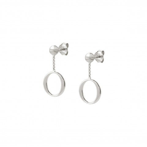 Unica_Earrings_with_Oval_Silver_earrings_with_pendant