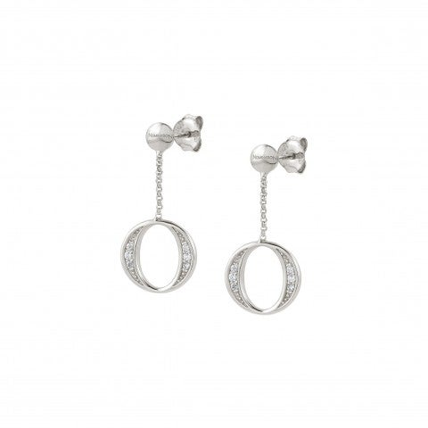 Unica_Oval_Earrings_with_Stones_Earrings_in_sterling_silver_with_geometric_pendants