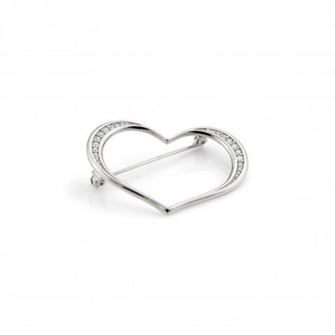 Unica_Brooch_with_Heart_Silver_brooch_with_Love_symbol