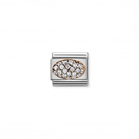 Composable_Classic_Link_Dome_with_White_Cubic_Zirconia_Link_with_white_Stones_and_details_in_9K_rose_gold