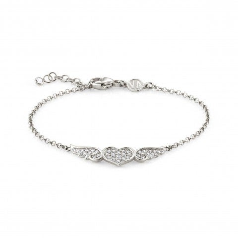 Silver_Angel_Bracelet_with_Winged_Heart_Bracelet_in_sterling_silver_with_white_Cubic_Zirconia