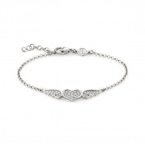 Bracelet_Angel_argent_avec_cœur_ailé_Bracelet_en_Argent_925_avec_Cubic_Zirconia_blancs