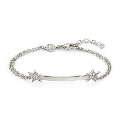 Bracelet_with_Stars_and_Cubic_Zirconia_Bracelet_in_silver_with_Stars_and_Zirconia