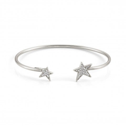 Rigid_Open_Bracelet_with_Stars_and_Zirconia_Bangle_with_Stars_and_Zirconia