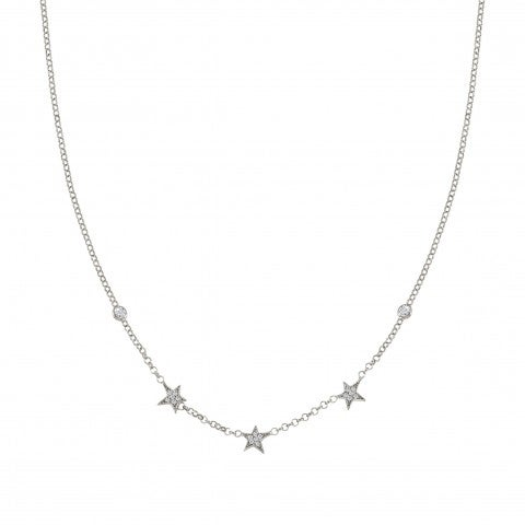 Necklace_with_Small_Star_Pendants_Necklace_with_white_Zirconia_and_Star_symbol