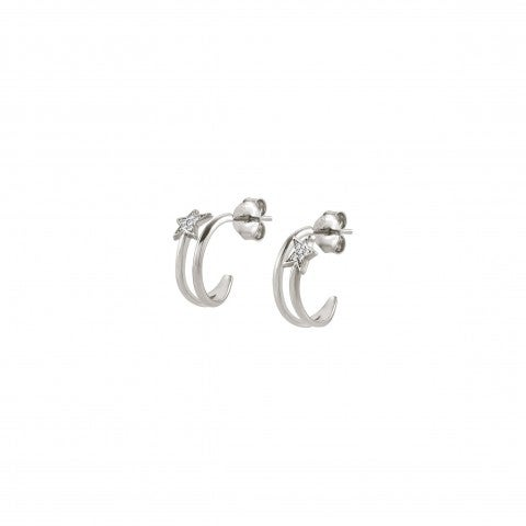 Hoop_Earrings_with_Stars_and_Zirconia_Earrings_with_delicate_Stars_and_white_Cubic_Zirconia