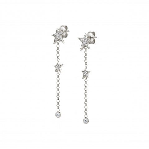 Drop_Earrings_with_Small_Stars_and_Stones_Earrings_with_white_Zirconia_and_Star_symbol