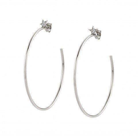 Hoop_Earrings_with_Star_Earrings_with_Stars_in_sterling_silver_and_stones