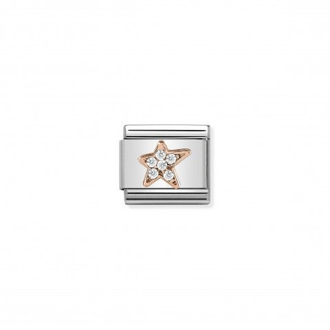 Composable_Classic_Link_Asymmetric_Star_Rosegold_Link_in_Rose_gold_and_white_stones