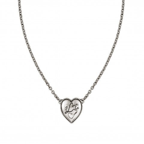 Necklace_RockInLove_with_Written_Heart_Vintage_Effect_Brass_Necklace_with_999_Silver_Plating